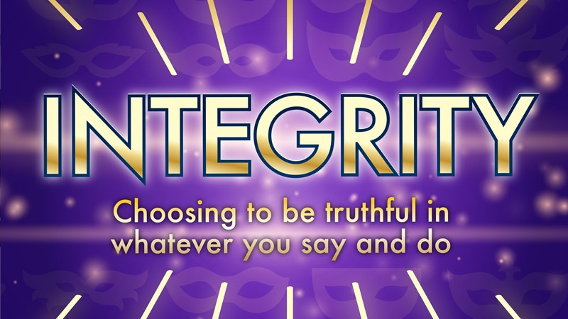 Integrity | October 18